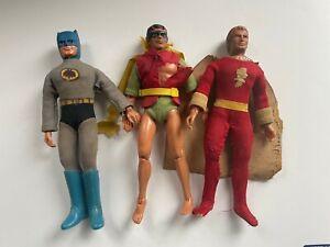 MEGO VINTAGE ORIGINAL WGSH BATMAN ROBIN SUPERMAN SHAZAM COSTUME