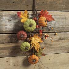 "RAZ Imports~29"" Pumpkin Acorn Berry Spray~Floral Pick/Branch/Stem/Tree/Wreath"