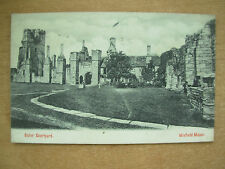 VINTAGE POSTCARD OUTER COURTYARD - WINFIELD MANOR - DERBYSHIRE