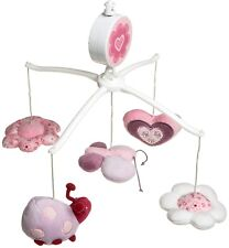 Just Born Musical Mobile - Flutters and Flowers (Discontinued by Manufacturer)