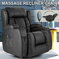 Electric Full Body Massage Chair Recliner Zero Gravity Ergonomic Lounge Heating