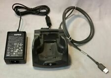 Symbol Motorola Crd7X00 Mc70 Mc75 Fr68 Fr6000 Charging Cradle w/Power Adapter