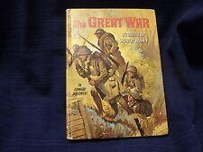 1965 The GREAT WAR Hardcover Childrens Book by EDWARD JABLONSKI Whitman Books