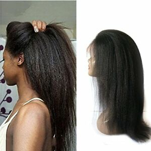 Best Italian Yaki Straight Lace Front/Full Lace Wig 100% Indian Human Hair Wigs