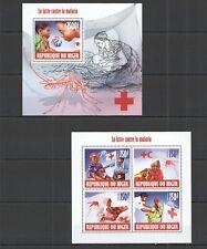ST2900 2013 NIGER SCIENCE LUTTE CONTRE LA MALARIA KB+BL MNH