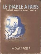 LE DIABLE A PARIS SUAREZ SENNEP illustrateur POLITIQUE
