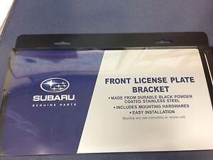 GENUINE OEM Subaru Front License Plate Bracket 2008-2020 Impreza Legacy Forester