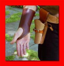 CLINT EASTWOOD Western Cowboy Leather Wrist Cuff - Gun Shooting - Movie Prop