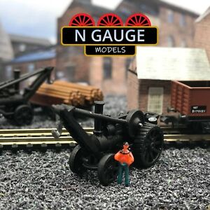 N Scale Gauge Crane Engine  1:148 (Ready to go!) Yard Traction Engine 1:160