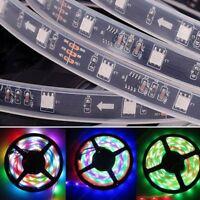5M WS2811 IC 5050 RGB Dream Color 30LED/M IP20 IP67 Pixel Strip Black/White PCB