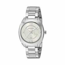 abb4791c426 Gucci YA142502 Women s GG2570 Silver-Tone Quartz Watch