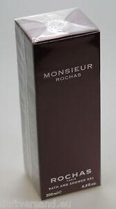 ROCHAS Monsieur 200 ml Bath and Shower Gel