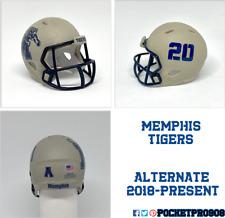New ListingCustom Pocket Pro Helmet Ncaa Memphis Tigers Alternate 2017-Present