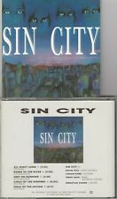 Sin City Self-Titled Sin City Compact Disc Vg+ Rare