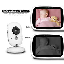 Digital Color Baby Monitor Camera Safety Night Vision Audio 2.4GHz IR Wireless