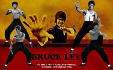 """BRUCE LEE Poster 24""""x 36"""" HD"""