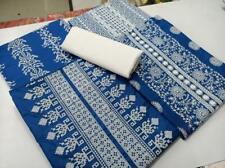 Cotton Salwar Suits Kameez Unstitched Dress Material Kashmiri Work Indian Wear