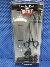 RAPALA COMBO PACK PLIERS/FORCEPS/SCALE/CLIPPERS #RTC-6PFSC