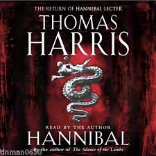 Hannibal by Thomas Harris 1999 Abridged Audio Cassettes Read by Author, 6 hours