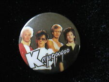 Kajagoogoo-Group-Red Jacket-Pin Badge Button-80's Vintage-Rare