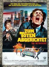 Per uccidere abgerichtet * The retrievers-a1-POSTER del film-German 1-sheet 1982 RAR