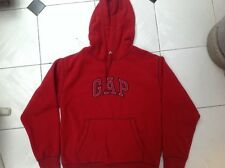 GAP Red Fleece Hoodie Sweater Size XS fit 9-10 years old.