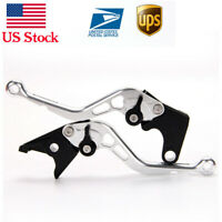 Auzkong Short Brake Clutch Levers for Aprilia RS4 125 2011-2017 2012 2013 2014 2015 2016 silver
