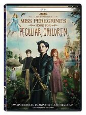 Miss Peregrine's Home for Peculiar Children (DVD 2016) NEW NOW SHIPPING !!!