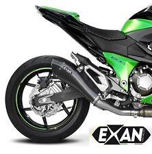 SILENCIEUX EXAN X-BLACK EVO INOX NOIR KAWASAKI Z800 E 2013/16 - K274ECO-IN