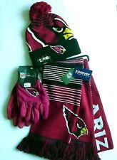 """NFL"" Arizona Cardinals Gift Set Scarf Cap Gloves Licensed Authentics (WZSL)"