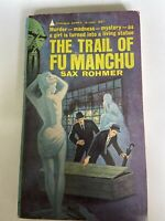 ROHMER, SAX - The Trail of Fu Manchu 1964 Pyramid Edition