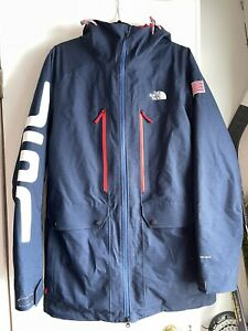 North Face Mens M Navy/red  primaloft Ski Coat jacket usa