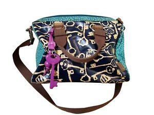 Fossil Key print handbag