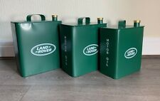 Vintage Style Reproduction Metal LAND ROVER Green Motor Oil Petrol Can 40cm
