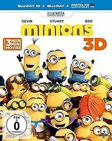 Minions  (+3D-Blu-ray) (+Blu-ray) von Coffin, Pierre...   DVD   Zustand sehr gut