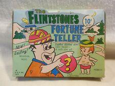 Flintstones 1977 HBPI Fred & Pebbles Fortune Teller Packs in Store Display Box