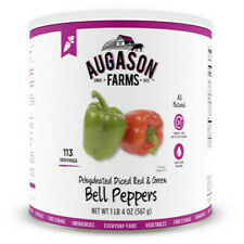 Augason Farms Diced Red /& Green Bell Peppers Emergency Prepper Food Storage EMP