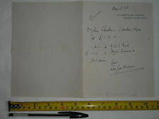 "Original used letter dated 1928? to ""Charles"" signed Leon Quartermaine (#N)"
