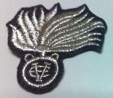 [Militaria] Fregio bustina Reali Carabinieri Sottufficiali - Fondo grigioverde
