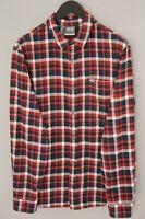 Herren Jack Wolfskin Freizeithemd Lumberjack Rot Baumwolle Baumwool XL UK44/46