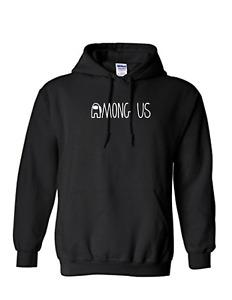 Unisex Kid's and men Among Us Funny Game Hoodie Casual Long Sleeve Sweatshirt Pr
