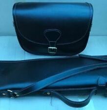 New Sheep Skin Leather Gun Case/Slip + Matching Cartridge Bag Beautiful Design.L