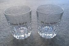 Two Johnnie Walker Whisky Glasses