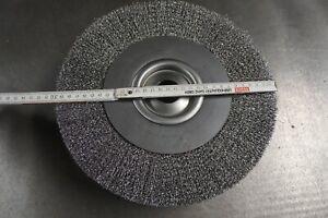 300 mm Stahldraht Rundbürste , Entgratbürste , Drahtscheibe  , inkl. Mwst