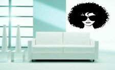 Wall Art Vinyl Sticker Decal Mural Decor Art Fashion Girl Sunglasses #1085