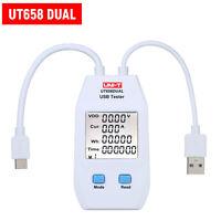 UNI-T USB Meter Charger Power Capacity Tester LCD Volt Amp Meter Detector K6S5