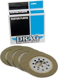 Drag Specialties kev Friction Clutch Plate Kit 5 Plates for Shovelhead 68-84