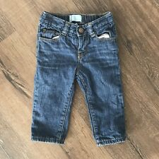 BABY GAP Baby Girl 6-12 Month Lined Jeans! Infant 100% Cotton 6-12m