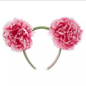 Disney Mickey Mouse Floral Ear Headband