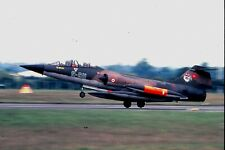 Duplicate colour slide TF-104G 9-911/65-5911 of 192 Filo Turkish Air Force